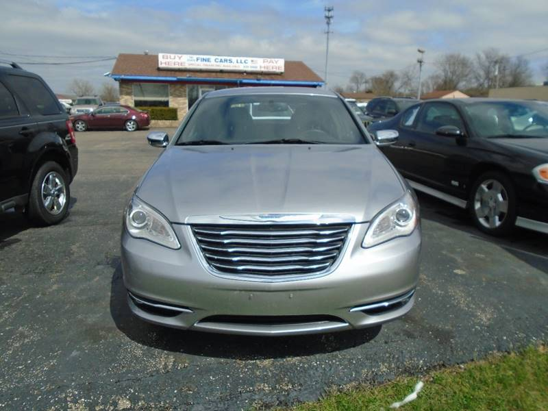 2013 Chrysler 200 Limited In Fairfield OH - TRI STATE FINE CARS LLC