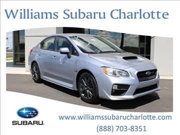2017 Subaru WRX for sale in Charlotte, NC