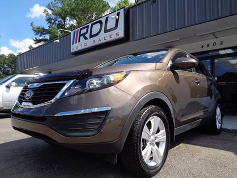 2012 Kia Sportage for sale in Raleigh, NC