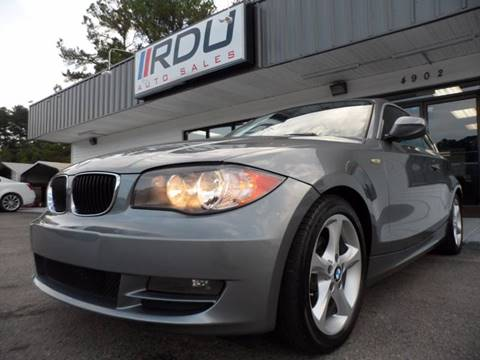 2011 BMW 1 Series for sale in Raleigh, NC