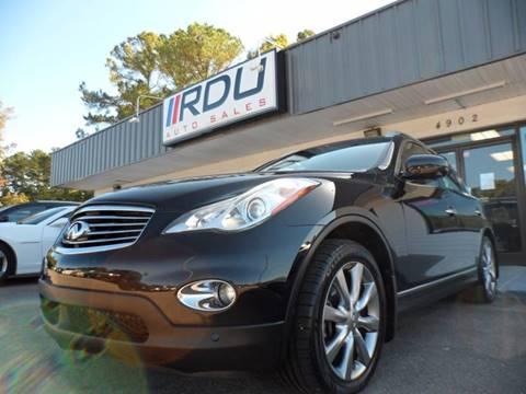 2013 Infiniti EX37 for sale in Raleigh, NC