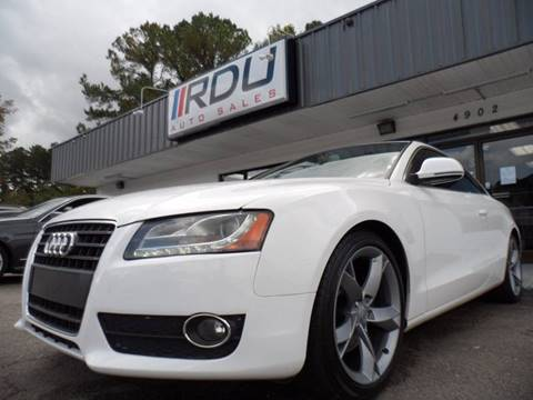 2009 Audi A5 for sale in Raleigh, NC