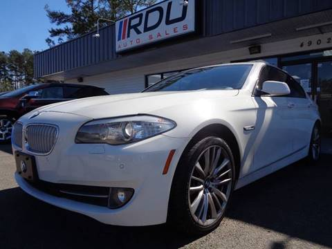 2011 BMW 5 Series for sale in Raleigh, NC