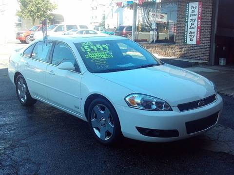 2006 Chevrolet Impala for sale in Glassport, PA