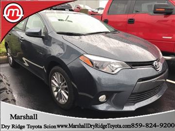 2015 Toyota Corolla for sale in Dry Ridge, KY