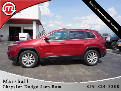 2017 Jeep Cherokee for sale in Crittenden, KY