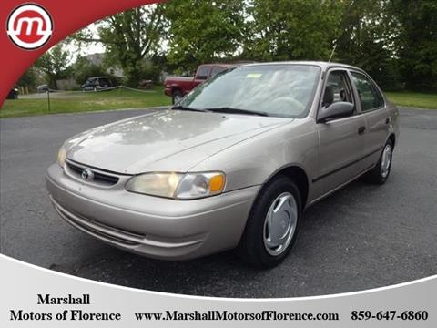 2000 Toyota Corolla for sale in Florence, KY