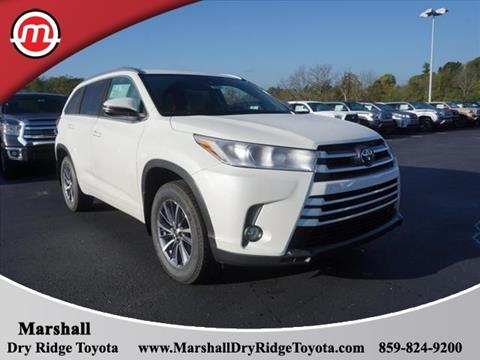 2018 Toyota Highlander for sale in Dry Ridge, KY