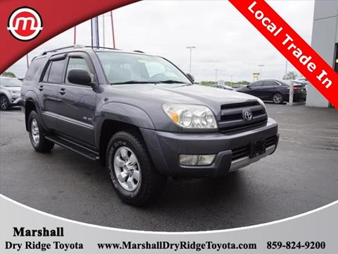 2004 Toyota 4Runner for sale in Dry Ridge, KY