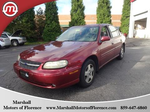 2002 Chevrolet Malibu for sale in Florence, KY
