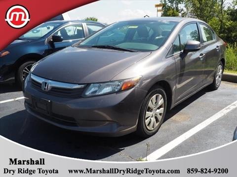 2012 Honda Civic for sale in Dry Ridge, KY
