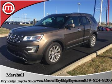 2016 Ford Explorer for sale in Dry Ridge, KY