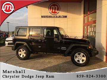 2015 Jeep Wrangler Unlimited for sale in Crittenden, KY