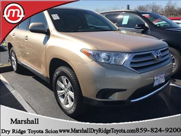2013 Toyota Highlander for sale in Dry Ridge, KY