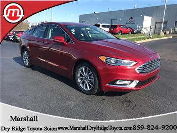 2017 Ford Fusion for sale in Dry Ridge, KY