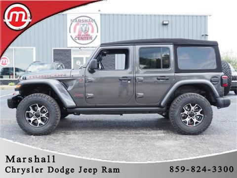 2019 Jeep Wrangler Unlimited for sale in Crittenden, KY