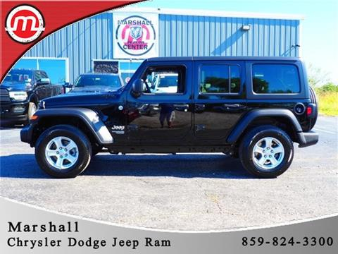2020 Jeep Wrangler Unlimited for sale in Crittenden, KY
