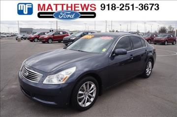 2008 Infiniti G35 for sale in Broken Arrow, OK