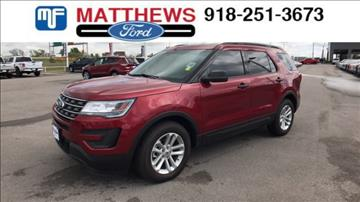 2017 Ford Explorer for sale in Broken Arrow, OK