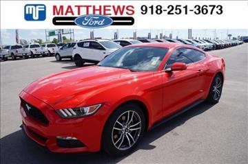 2017 Ford Mustang for sale in Broken Arrow, OK