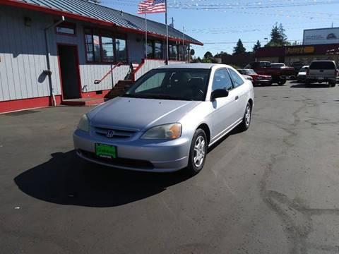 2001 Honda Civic for sale in Portland, OR