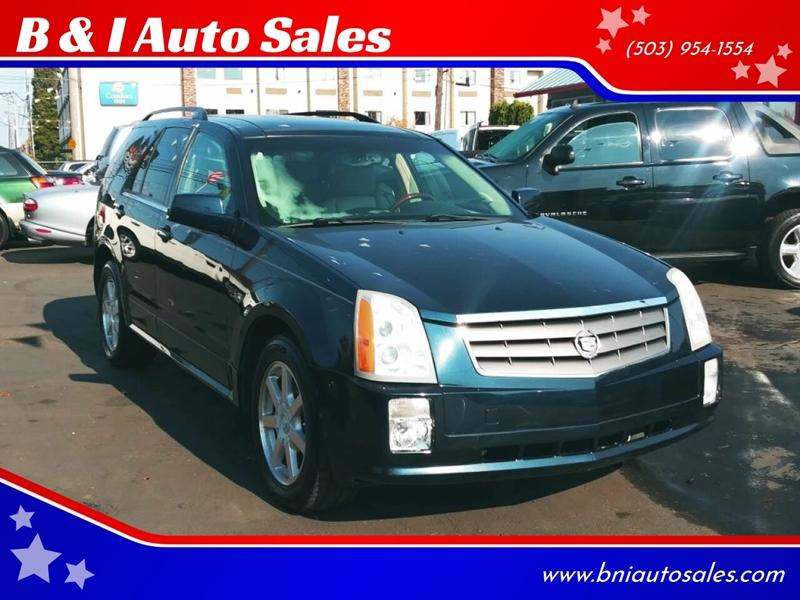 Cadillac Of Portland >> 2005 Cadillac Srx Rwd 4dr Suv V6 In Portland Or B I Auto Sales