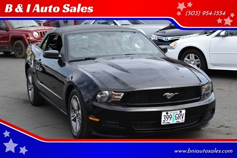 2012 Ford Mustang for sale in Portland, OR