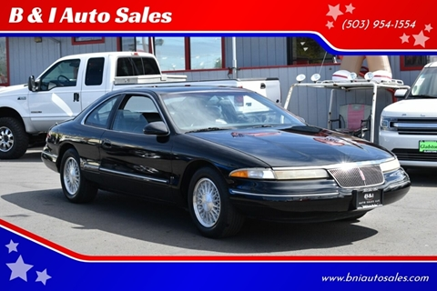 1993 Lincoln Mark VIII For Sale In Portland OR