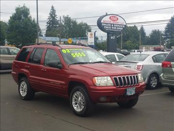 2002 Jeep Grand Cherokee for sale in Portland, OR