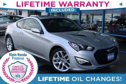 2013 Hyundai Genesis Coupe for sale in Everett, WA