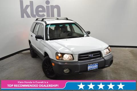 2003 Subaru Forester for sale in Everett, WA