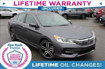 2017 Honda Accord for sale in Everett, WA