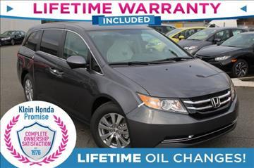 2017 Honda Odyssey for sale in Everett, WA