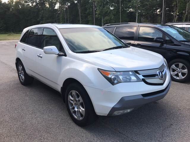 2009 acura mdx sh awd w tech w res in griffin ga georgia truck world