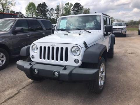 2016 Jeep Wrangler Unlimited for sale in Griffin, GA