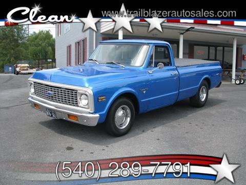 1972 Chevrolet C/K 10 Series for sale in Mc Gaheysville, VA