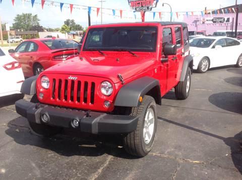 2016 Jeep Wrangler Unlimited for sale in Wyandotte MI