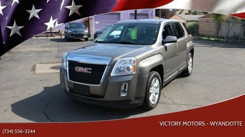 2012 GMC Terrain for sale in Wyandotte, MI