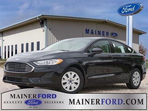 2019 Ford Fusion for sale in Okarche, OK