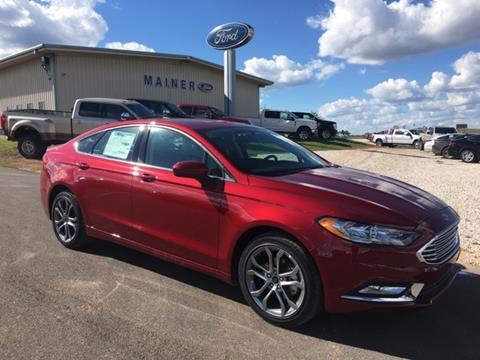 2017 Ford Fusion for sale in Okarche, OK