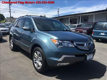 2008 Acura MDX for sale in Everett, WA