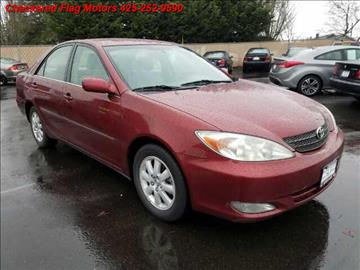 2004 Toyota Camry for sale in Everett, WA