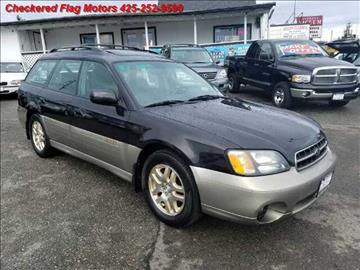 2001 Subaru Outback for sale in Everett, WA