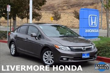 2012 Honda Civic for sale in Livermore, CA