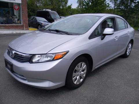 2012 Honda Civic for sale in Plainfield, CT