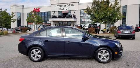 2015 Chevrolet Cruze for sale in Plainfield, CT