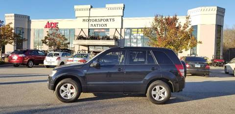 2007 Suzuki Grand Vitara for sale at Motorsports Nation Auto Sales in Plainfield CT