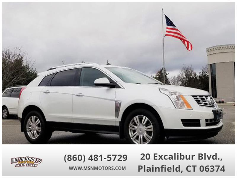 2013 Cadillac Srx Luxury Collection In Plainfield Ct Motorsports