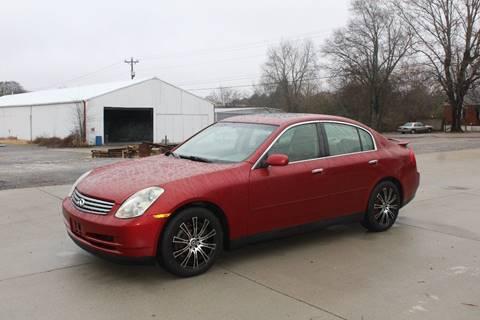 2003 Infiniti G35 for sale at Auto Empire Inc. in Murfreesboro TN