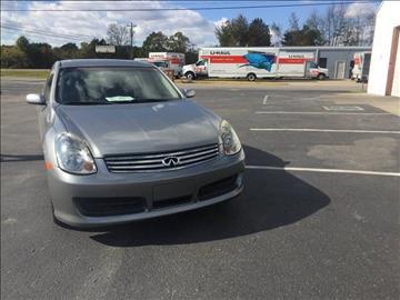 2004 Infiniti G35 for sale at Auto Empire Inc. in Murfreesboro TN